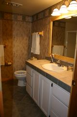 Big Sky condo photo - One of two full bathrooms, both have shower/tubs