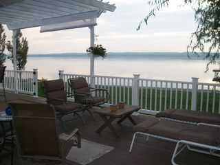 Romulus house photo - Lakeside Deck