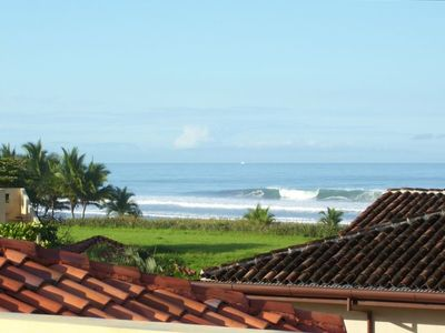 Playa Hermosa house rental - View from the master bedroom and roof top patio