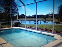 Waterfront Pool Home with Sunset Views on Sanctuary Adjacent Lot! Wow!
