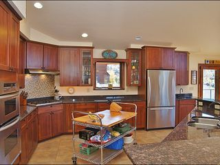 Steamboat Springs house photo - The Kitchen is so big an island was brought in