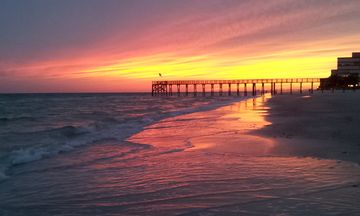 Redington Beach condo rental - Amazing sunsets on the beach