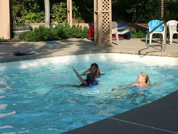 Mariposa cottage rental - Courtyard Pool