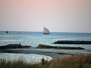 Cape Charles condo photo - Sailing Off the Private Beach on the Chesapeake Bay