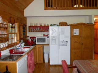 Peaks Island house photo - Kitchen just full of gourmet utensils and lots of space for preparation!