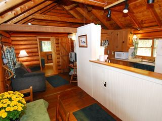 Rangeley Lake cabin photo - Kitchen, Living