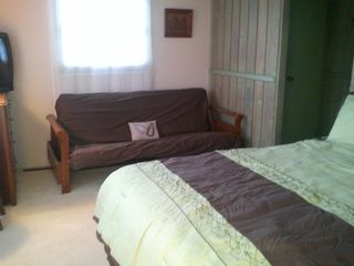 Ocean Pines house photo - Full Size Futon in 2nd bedroom with cable TV