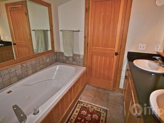 Park City condo photo - Master Bath with double sinks private shower