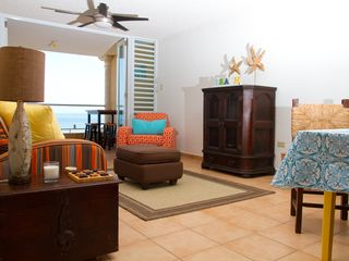 Cabo Rojo condo photo - New, comfortable furniture beckons you to read a book or just take a nap