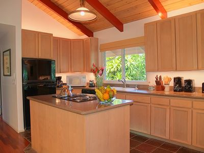 Guest House: Each kitchen is fully stocked with new appliances and cooking tools