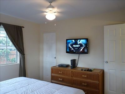 2nd Bedroom,HDTV with Seperate Cable Box & For Your Gaming Needs X-Box !