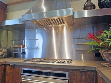 Fully Equipped Chef's Kitchen of Highest Quality Appliances.