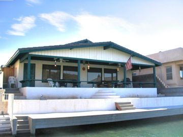 Parker house rental - River house with dock and huge patio-great for relaxing with family and friends!
