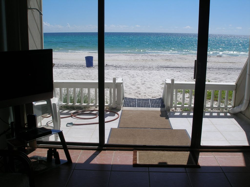 Beachfront townhouse quiet west end panama city beach florida 2 br vacation townhome for rent for 4 bedroom 4 bath condo panama city beach