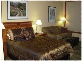 Solitude condo photo - Relax and watch TV or look out the window in the bedroom suite.