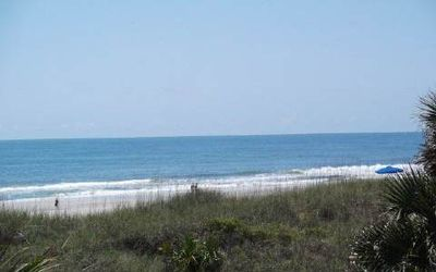 Amelia Island condo rental - Ocean view from the balcony