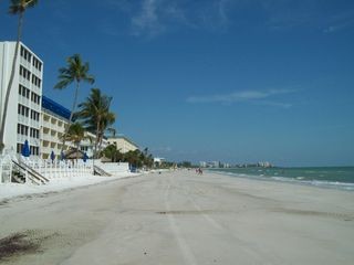 Fort Myers Beach house photo - Wonderful white sand beach, less than a block walk away from the house