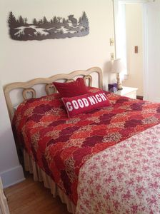 Mirror Lake house rental - Upstairs Bedroom #3 - queen bed