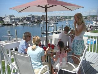 Groton house photo - Harborside Lunch at the Casino