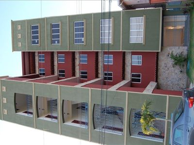 Street View of 4th Floor Unit of 5 Story Building, Gated Parking Entra