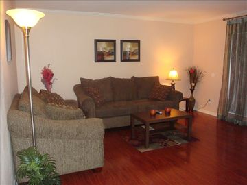 Rancho Bernardo condo rental - Bright and Specious Living Room with lots of Sunlight