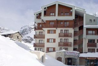 Hameau du Borsat at the top of Tignes Val Claret -