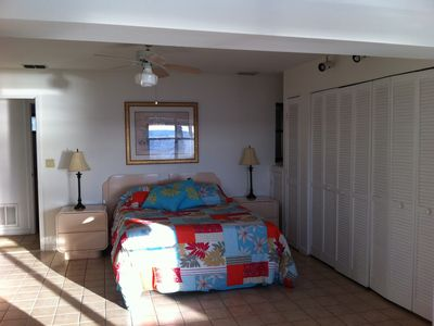 Hernando Beach house rental - downstairs bedroom (3rd)