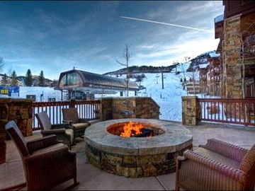 Beaver Creek townhome rental - Outside Firepit