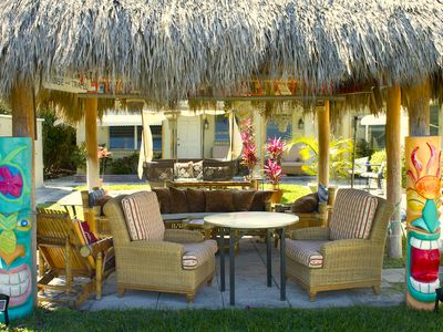 Cool Off and Relax in the Tiki Hut