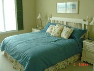 Garden City Beach house photo - Upstairs king bed on ocean