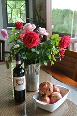 Cortona villa photo - Wine and Roses ... Thanks to Gill