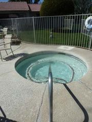 Palm Springs condo photo - Hot tub for soaking away your cares