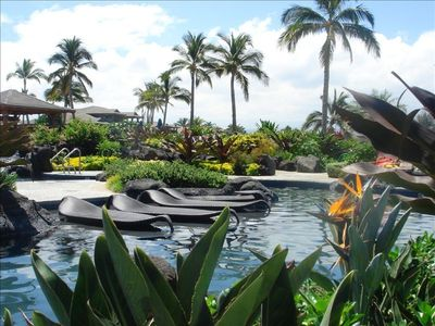 Waikoloa Beach Resort condo rental - Lagoon Pool