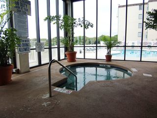 Sands Beach Club condo photo - Indoor hot tub located next to the indoor pool.