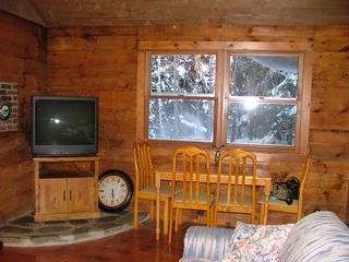 Pittsburg cabin photo - Living room