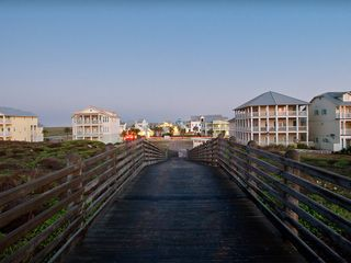 Port Aransas condo photo - View of Cinnamon Shore from Dune Crossover