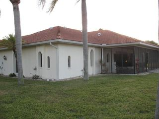 Cape Coral house photo - Rear of house and Lanai