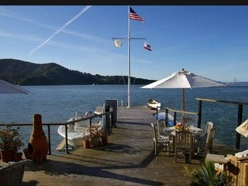 Tiburon house rental - view of the Golden Gate