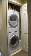 Bretton Woods townhome photo - There is a full size luxury washer and dryer.