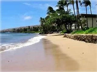 Beach looking toward Ma'alaea Harbor