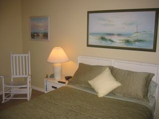 Fripp Island condo photo - Master Bedroom (Ocean View)