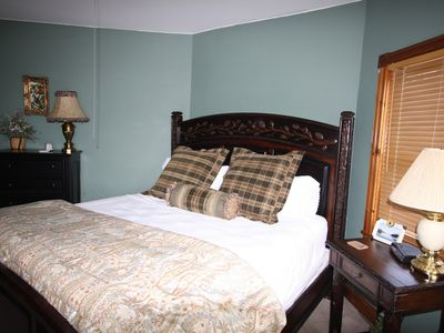 Lake Placid house rental - Master Bedroom