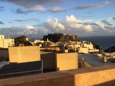 The best view in Chora