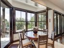 Breakfast nook for 6 to relax and enjoy meals at