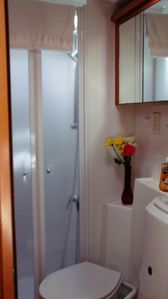 Key West yacht rental - Head/Bathroom with Separate Shower