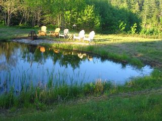 Alna house photo - Tranquility Pond. In back yard.