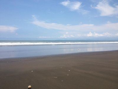 Puntarenas City estate rental - Beach out front.
