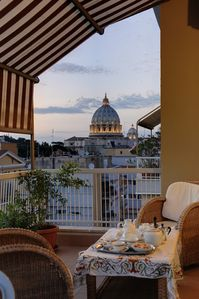 Prati (Vatican area) apartment rental - Terrace