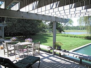 Sag Harbor house photo - Back Deck