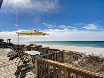 Sunnyside house rental - Your back porch overlooking the gulf.